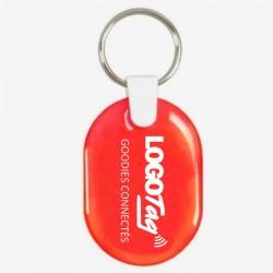 Porte-clés doming LOGOTAG