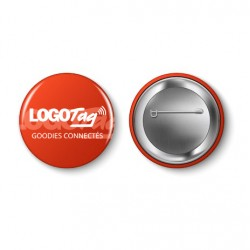 Badge Bouton LOGOTAG Grand...